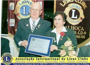 Casal presidente AL 2009/2009