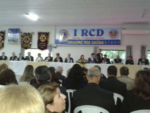 Mesa diretiva da I RCD