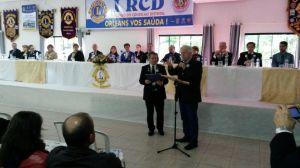 CL Brant recebendo homenagem do PDG CL Alberto Gonçalves